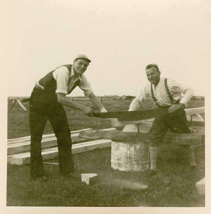 004 – Traditionelle Handwerksarbeit war in den 60ern gefragt