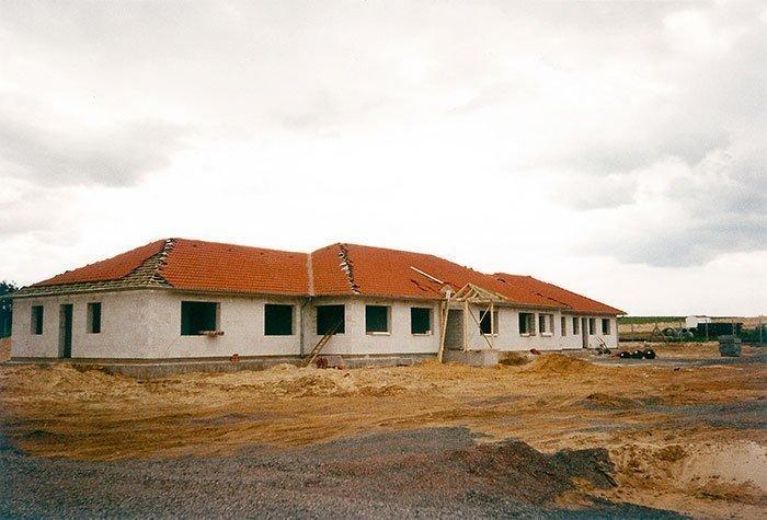 032 – Das Bürogebäude entsteht