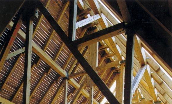 Dachkonstruktion für das Bismarck Gymnasium Magdeburg