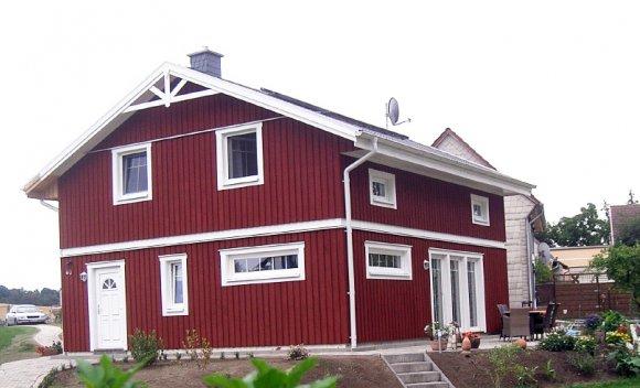 Einfamilienhaus in Berssel Holztafelbau 1