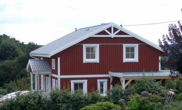 Einfamilienhaus in Heusweiler Holztafelbau