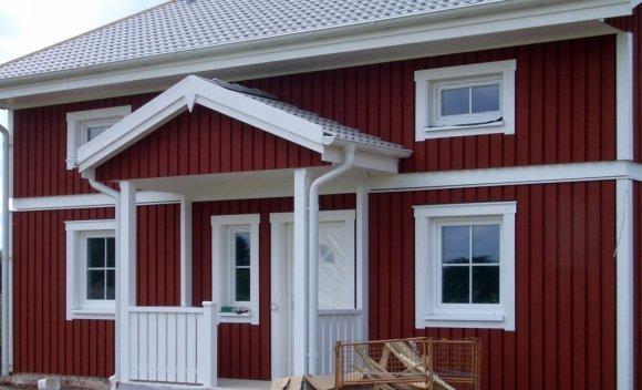 Einfamilienhaus in Holztafelbauweise Heusweiler