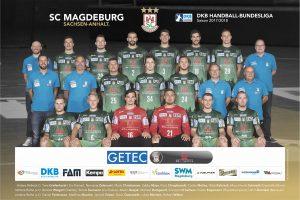 Sie sind seit Jahrzehnten erfolgreich am Ball: die Grünen vom SC Magdeburg.
