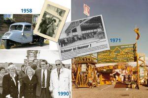 Jubiläum - SCHNOOR wird 60 - 1958, 1971 und 1990