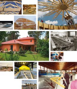 Nagelplattenbinder für Dachkonstruktionen von SCHNOOR