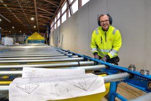 Aufbau der AutoEye-Anlage von Randek bei SCHNOOR