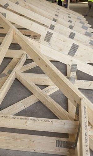 Nagelplattenbinder